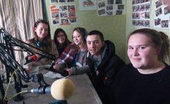 Les élèves parlent de la MFR à la radio