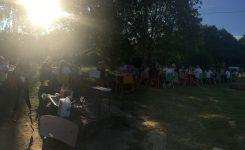 L'année se termine autour d'un Barbecue avec les familles