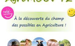 Découvrir les métiers de l'agriculture avec Agri'mouv 72
